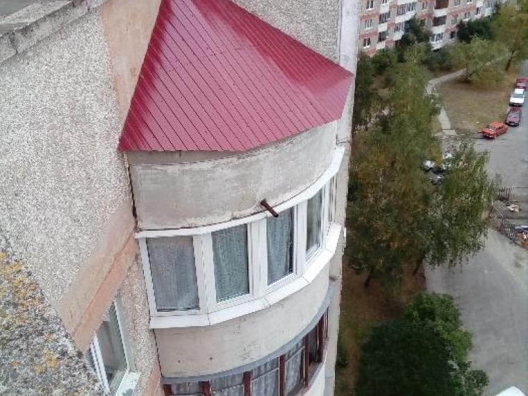 Козырьки и кровля балконов